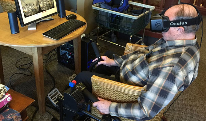 Virtual reality - reshaping the lives of seniors